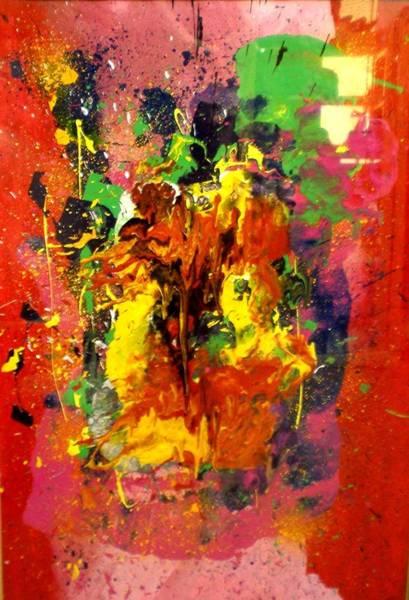 Wall Art - Painting - Party by Ed Ciolina