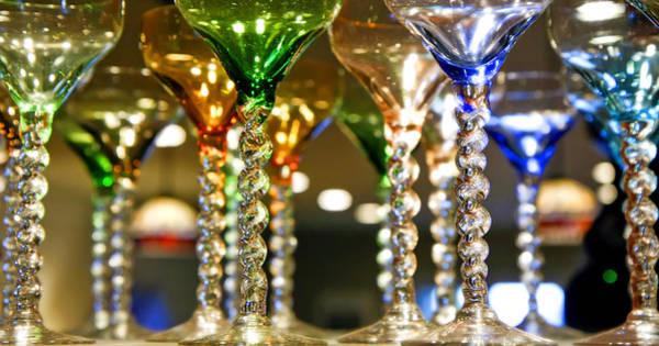 Photograph - Party Glasses by KG Thienemann