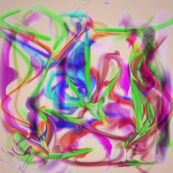 Digital Art - Party Time by Kae Cheatham