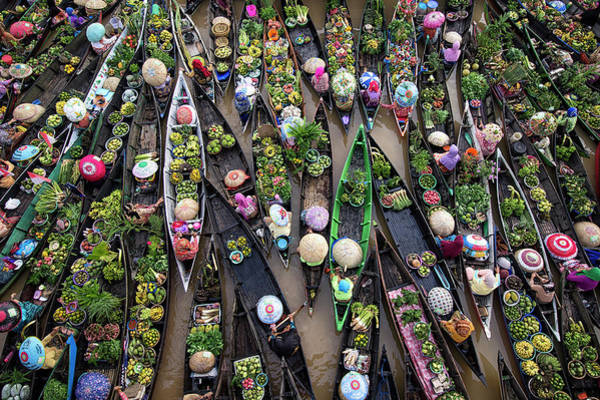 Market Wall Art - Photograph - Pasar Terapung by Insan Kamil