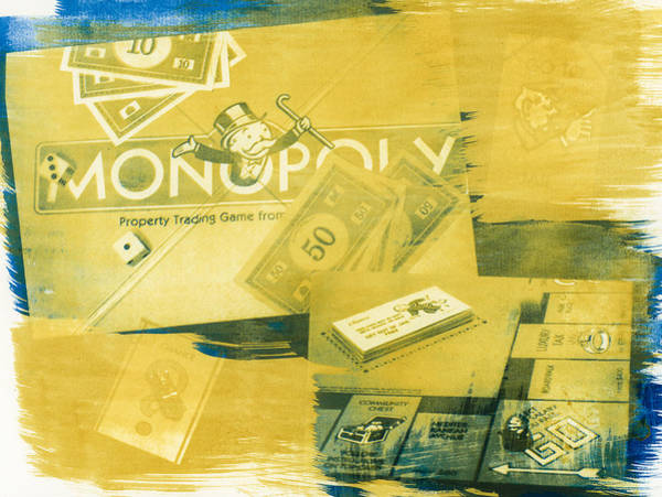 Monopoly Photograph - Pass Go by Caitlyn  Grasso