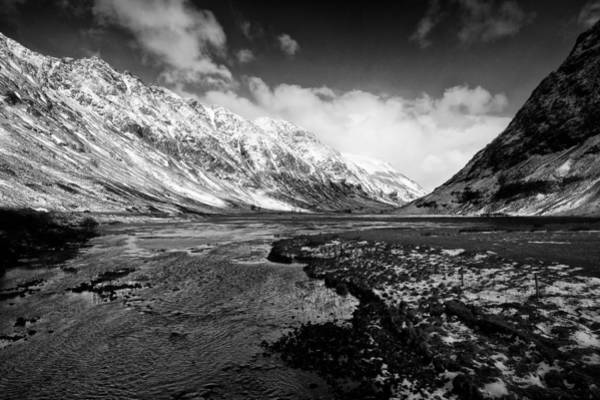 Pass Of Glencoe Art Print