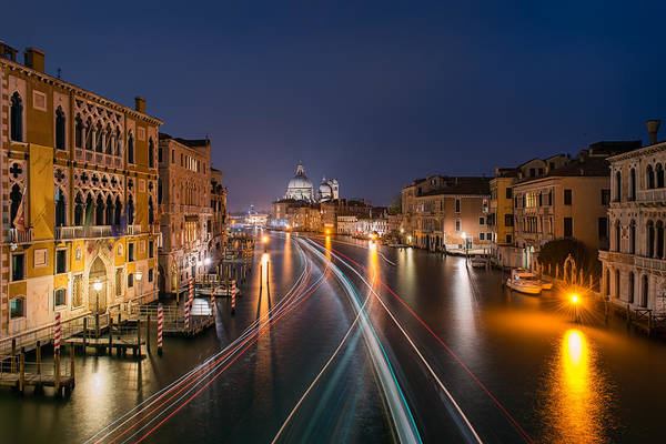 Photograph - Passage On Grand Canal by Michael Blanchette