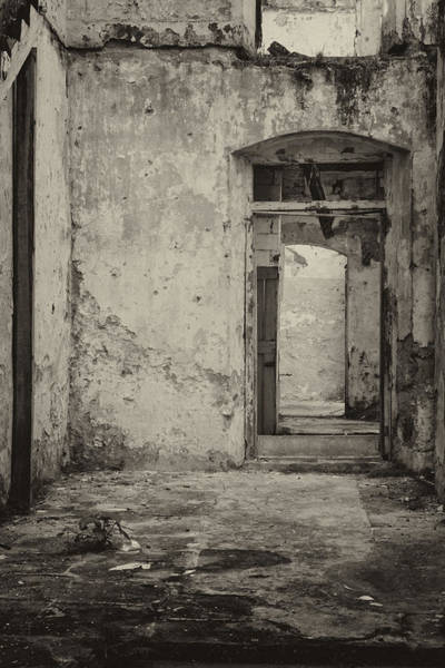 Dilapidation Wall Art - Photograph - Enter  The Past by Kandy Hurley