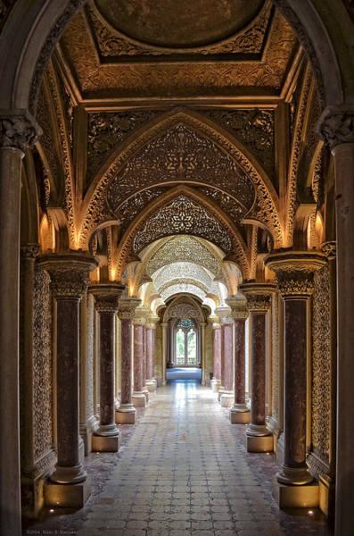 Sintra Photograph - Passage Way - Monserrate Palace by Mary Machare
