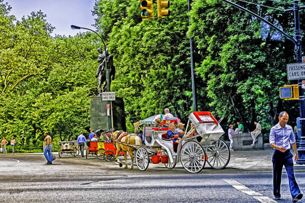Wall Art - Photograph - Passenger Cars Only - Central Park by Madeline Ellis