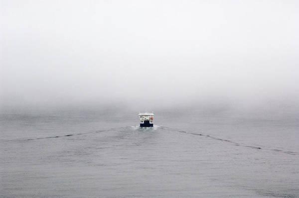 Faroe Island Wall Art - Photograph - Passenger Ferry by Daniel Sambraus/science Photo Library