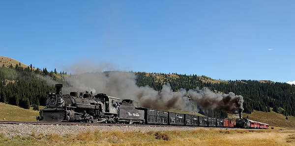 K-36 Photograph - Passenger Train Has The Highball by Ken Smith