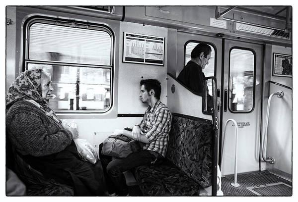 Wall Art - Photograph - Passengers  by Madeline Ellis