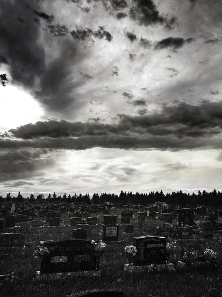 Grave Yard Photograph - Passing Souls  by The Artist Project