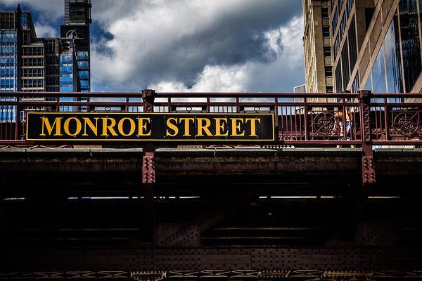Photograph - Passing Under Monroe Street Chicago by Eleanor Abramson