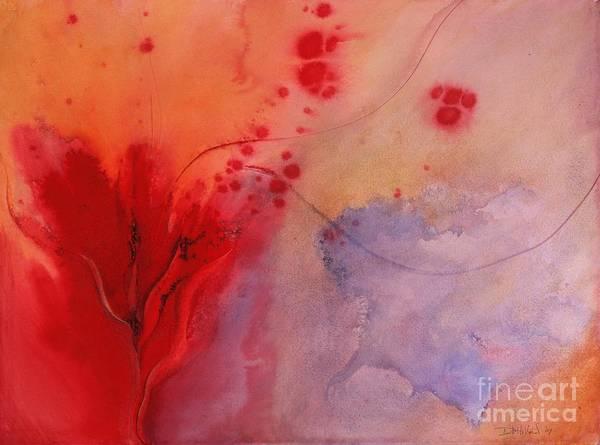 Gestation Painting - Passion by Debra Hillard