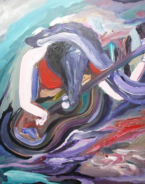 Painting - Passion For Music by Ray Khalife