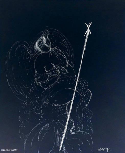 Drawing - Passion II by Giorgio Tuscani