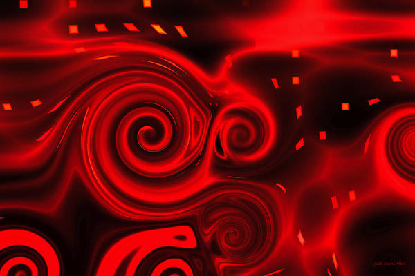 Digital Art - Passion by Judi Suni Hall