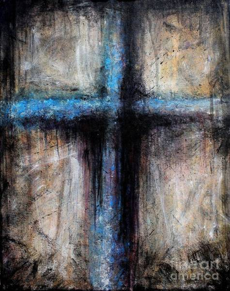 Wall Art - Painting - Passion Of The Cross by Michael Grubb