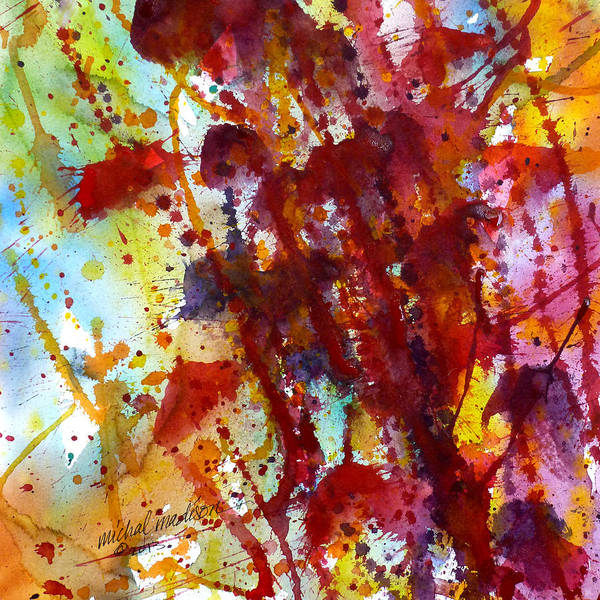 Painting - Passion Rising by Michal Madison
