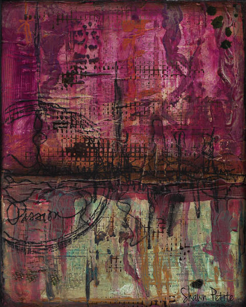 Desire Mixed Media - Passion by Shawn Petite