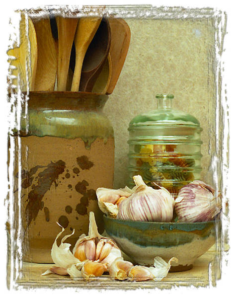 Wooden Spoon Digital Art - Pasta Jar II by Ken Evans