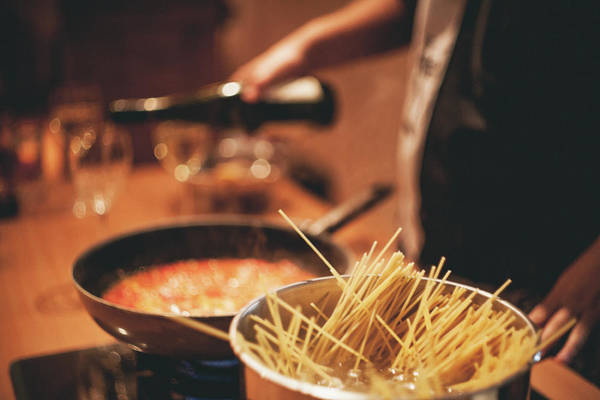 Italian Wine Photograph - Pasta by N+t*