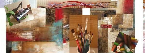 Description Digital Art - Pastal Collection by Annette Abbott
