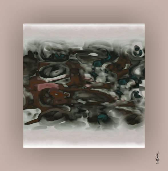 Art Print featuring the digital art Pastel 13 by Mihaela Stancu