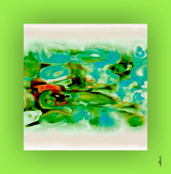 Art Print featuring the digital art Pastel 18 by Mihaela Stancu