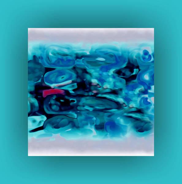 Art Print featuring the digital art Pastel 20 by Mihaela Stancu