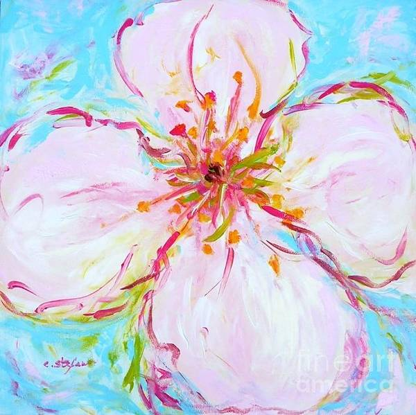 Painting - Pastel Blossom by Cristina Stefan