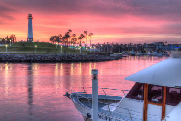 Boat Ride Wall Art - Photograph - Pastel Colored Sunset by Heidi Smith