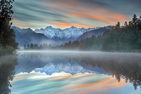 Mountain Range Photograph - Pastel Hues by Greg Metro