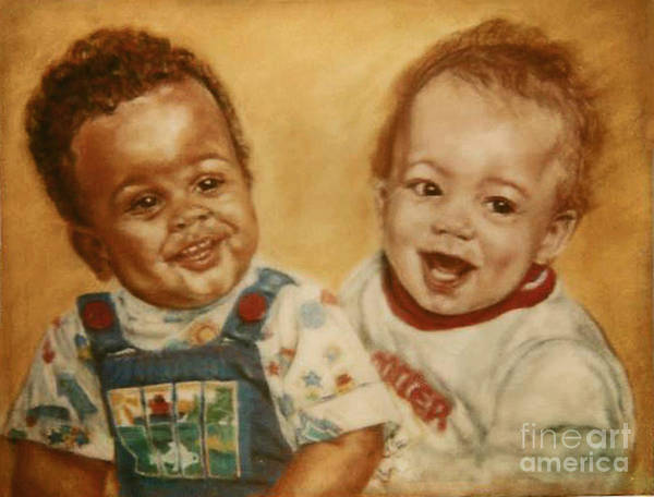 Painting - Paintings By Monica C. Stovall - Pastel Portrait No. Pp9 by Monica C Stovall