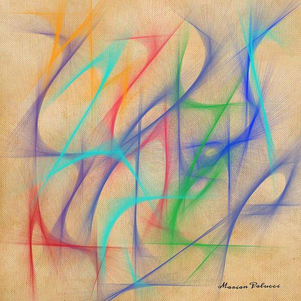 Mixed Media - Pastels by Marian Palucci-Lonzetta
