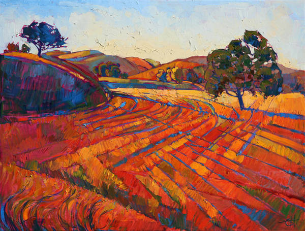 Wall Art - Painting - Pastoral Light by Erin Hanson