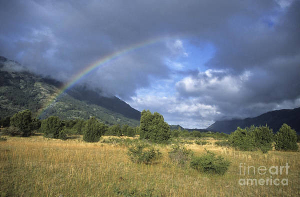 Photograph - Patagonian Rainbow by James Brunker
