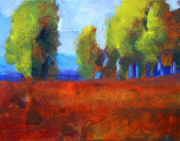 Balance Painting - Patching The Environment by Nancy Merkle