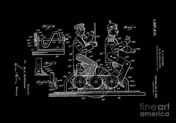 Digital Art - Patent Art 1920 Toy Display by Lesa Fine