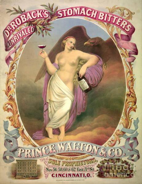 Wall Art - Photograph - Patent Medicine Ad 1866 by Padre Art