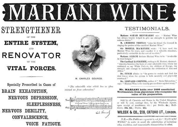 Endorsement Photograph - Patent Medicine Ad, 1893 by Granger