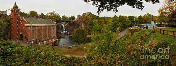 Photograph - Paterson Great Falls Panoramic View by Adam Jewell