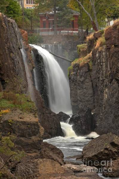 Photograph - Paterson Great Falls Portrait by Adam Jewell