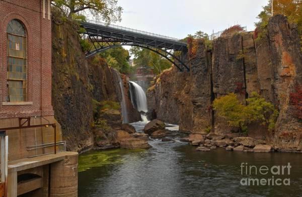 Photograph - Paterson New Jersey Waterfall by Adam Jewell