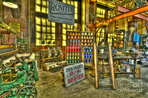 Photograph - Paterson Silk Mill by Anthony Sacco