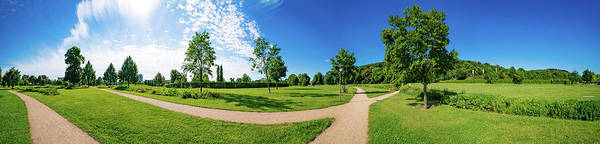 Wall Art - Photograph - Path In Park by Wladimir Bulgar/science Photo Library