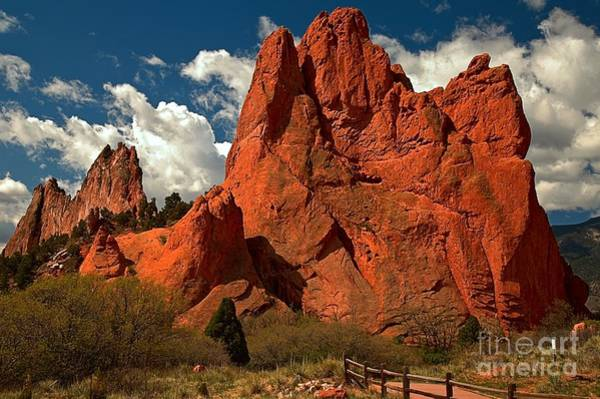 Photograph - Path In The Red Rock Towers by Adam Jewell