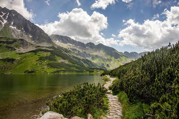 High Tatras Wall Art - Photograph - Path Near The Lake by Pati Photography