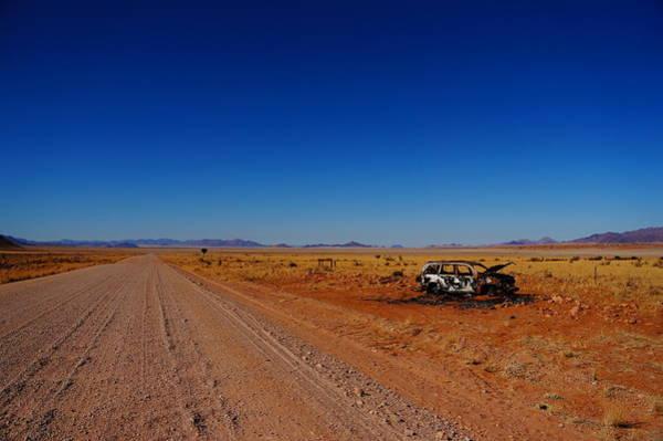 Wall Art - Photograph - Path Through The Desert by Taken By Chrbhm