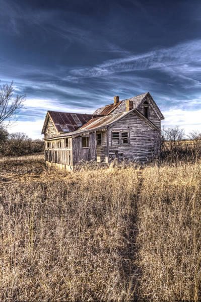 Abandonment Photograph - Path To Desperation by Corey Cassaw