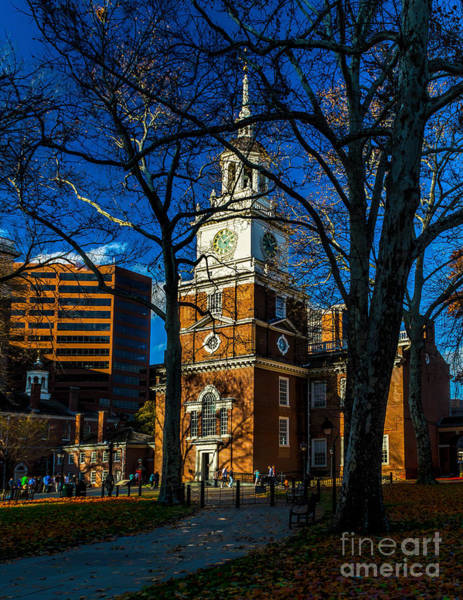 Photograph - Path To Independence Hall by Nick Zelinsky