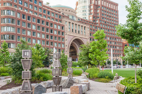Photograph - Path To Rowes Wharf by Susan Cole Kelly